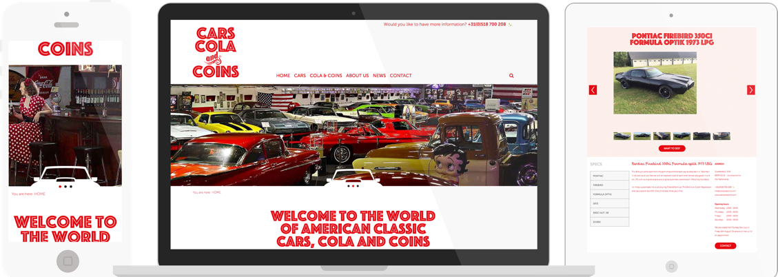 Cars Cola and Coins